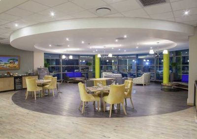 VIP lounge Fireblade Terminal OR Tambo - private-sky Private Air Charters 1
