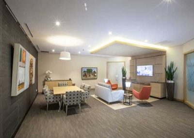 VIP lounge Fireblade Terminal OR Tambo - private-sky Private Air Charters 2