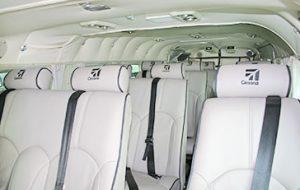 Cessna Grand Caravan interior - private-sky Private Air Charters